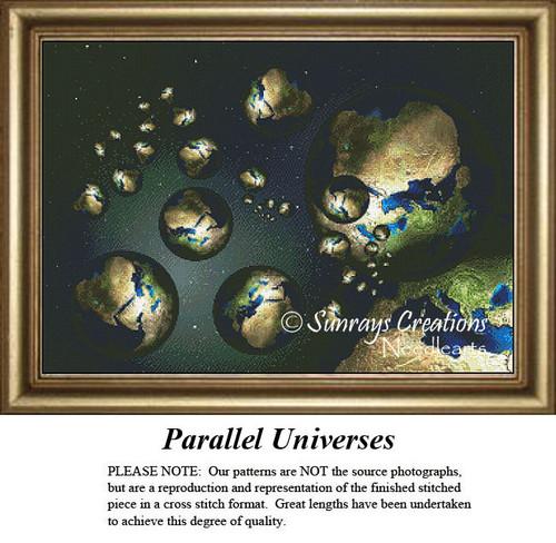 Fantasy Cross Stitch Pattern | Parallel Universes