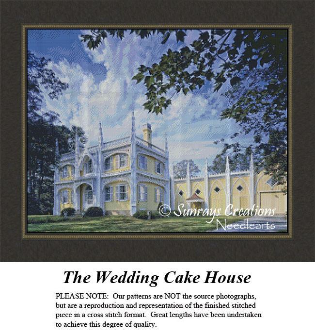 New England States Cross Stitch Patterns The Wedding Cake House Maine
