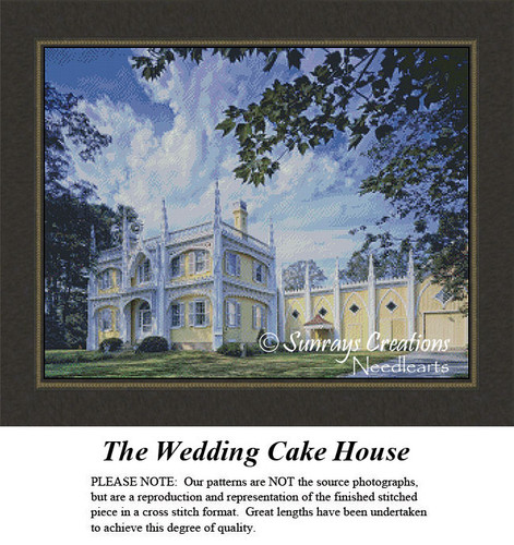 New England States Cross Stitch Patterns | The Wedding Cake House Maine