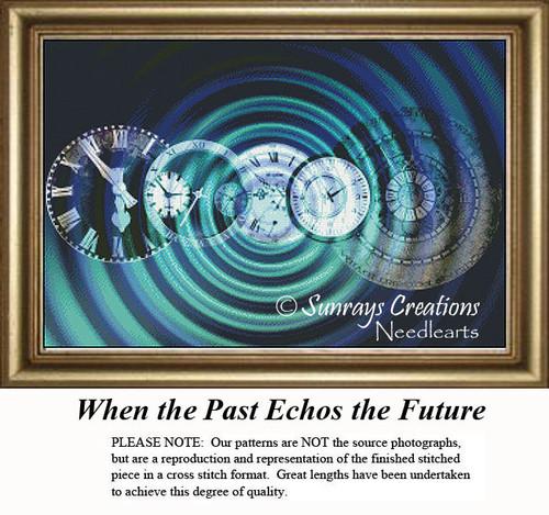 Fantasy Cross Stitch Pattern | When the Past Echos the Future