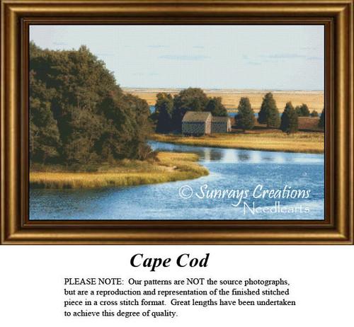 Massachusetts Cross Stitch Patterns | Cape Cod