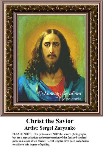Fine Art Counted Cross Stitch Patterns | Christ the Savior