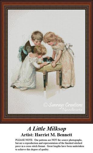 Vintage Cross Stitch Patterns | A Little Milksop