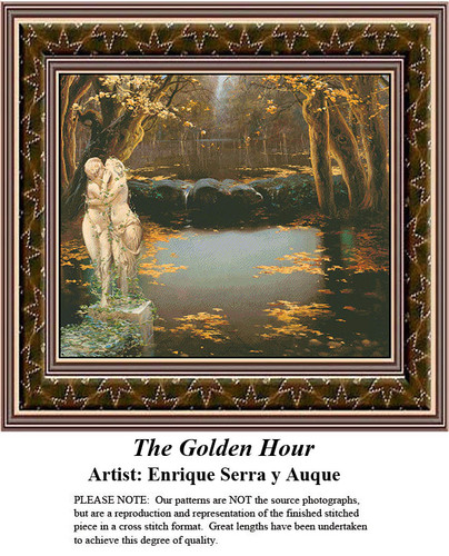 Fine Art Cross Stitch Patterns   The Golden Hour