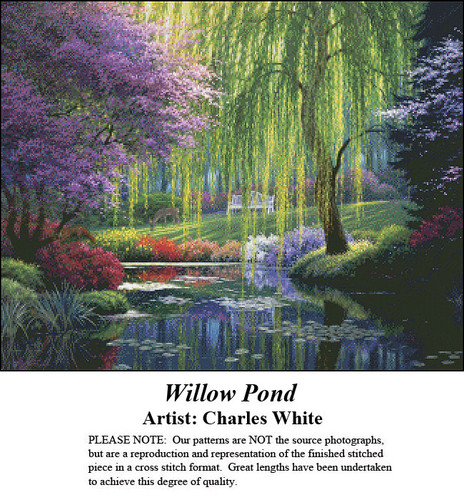 Charles White Cross Stitch Patterns | Willow Pond