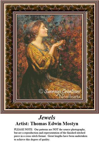 Fine Art Cross Stitch Pattern | Jewels