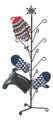 Mitten and Boot Dryer Stand, Snowflake