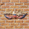 24 Inch Patriotic Wall Eagle