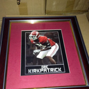 "ALABAMA CRIMSON TIDE FRAMED ART PICTURE "" Dre Kirkpatrick """