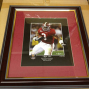 "ALABAMA CRIMSON TIDE FRAMED ART PICTURE LARGE ""HIGH TIDE"""