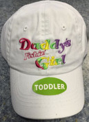 (144) Daddy's Fishin Girl Toddler Caps Case Pack Wholesale Lot
