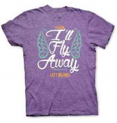 I'll Fly Away Left Behind Christian T-shirt by Kerusso