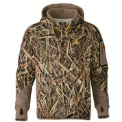 Browning Wicked Wing Smoothbore Fleece Hoodie Mossy Oak Shadow Grass Blades
