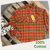 Stanley Plaid Flannel Button Down