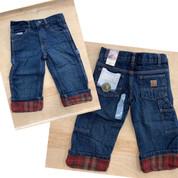 Berne Denim Flannel Lined Carpenter Jeans