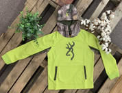 Youth Browning Dri Fit Pullover