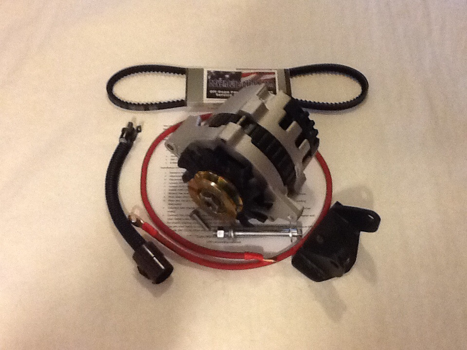 suzuki samurai 1 3l gm cs130 alternator kit no splicing Suzuki Samurai Tail Light Wiring