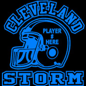 CLEVELAND - (Football-11)CAR DECAL