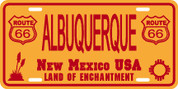 New Mexico (Alb-66) Plate