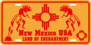 New Mexico (Kokopeli) Plate