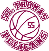 ST THOMAS (Basketball-11) HOODIES