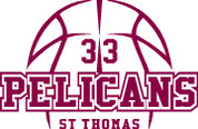 ST THOMAS (Basketball-12) HOODIES