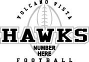 VOLCANO VISTA - (Football-12) SHIRTS