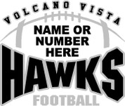 VOLCANO VISTA - (Football-28) SHIRTS
