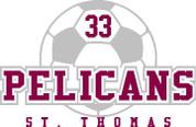 ST THOMAS (Soccer-12) SHIRTS