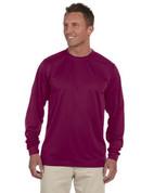 788 100% Polyester Dri-Fit Short-Sleeve T-Shirt - Maroon
