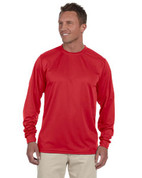 788 100% Polyester Dri-Fit Short-Sleeve T-Shirt - Red