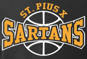 St Pius Sartans (Basketball-23) HOODIES