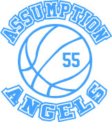 Our Lady of  Assumption (Basketball-11) HOODIES