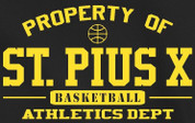 St Pius Sartans (Basketball-07) DRI-FIT LADY CUT