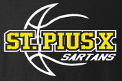 St Pius Sartans (Basketball-14) DRI-FIT LADY CUT