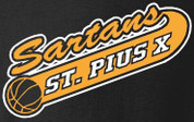 St Pius Sartans (Basketball-35) DRI-FIT LADY CUT