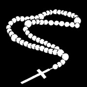 Rosary-02 (Car Decal)