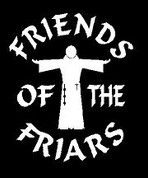 Friends of the Friars 2 Car Decal