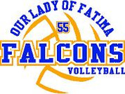Our Lady of Fatima (Volleyball-14) DRI-FIT LADY
