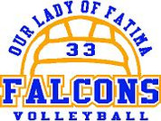 Our Lady of Fatima (Volleyball-12) DRI-FIT LADY
