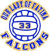 Our Lady of Fatima (Volleyball-11) DRI-FIT LADY