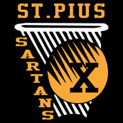 St Pius Sartans (Basketball-20-182) DRI-FIT LADY CUT
