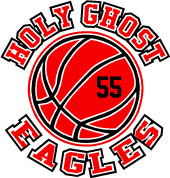 HOLY GHOST (Basketball-11) Car Decal (Custom)