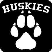 HUSKIES - Car Decal
