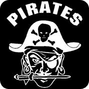 Pirates - Car Decal