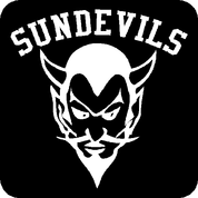 Sundevils - Car Decal