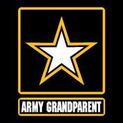 Army Grandparent - Car Decal