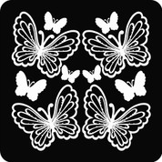 Butterfly 07 Set - Car Decal