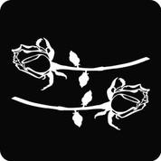 Rose-03 (Set) - Car Decal