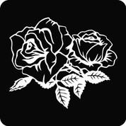 Rose-04 - Car Decal